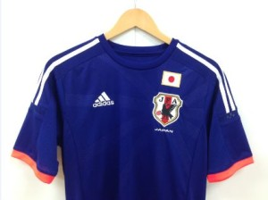 サッカーワールドカップ2014日本代表ユニフォーム
