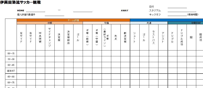 集計表イメージ