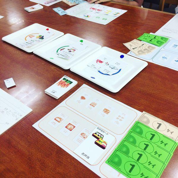 塾,安城,教室,経済ゲーム